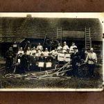 Fotogrāfija – Lejasciema pilsētas brīvprātīgie ugunsdzēsēji 1924.gads.