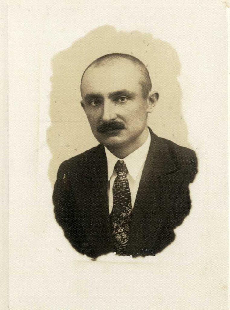 8. telefona un telegrāfa rajona priekšnieks Mārtiņš Matisons. 1939. gads.